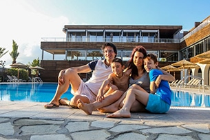 Calcidica con bambini, Alpitour hotel blue dolphin
