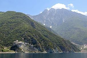 Calcidica con bambini, crociera al Monte Athos