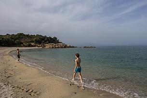Calcidica con bambini, spiagge Olimpiada