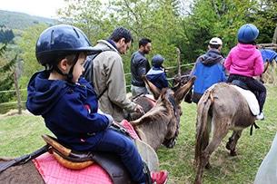 Trekking con gli asini per bambini, Gli Amici dell'Asino