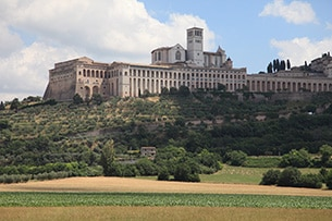 Weekend Assisi con bambini, panoramica