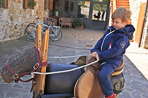 Weekend nel verde in Toscana, La collina delle stelle agriturismo per bambini