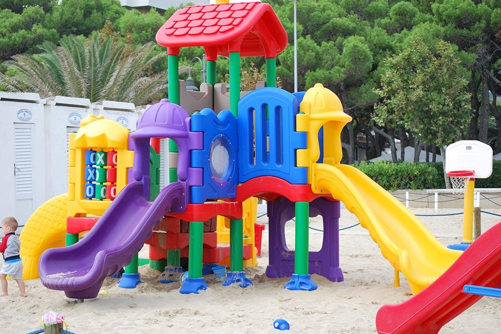 Hotel per bambini Abruzzo mare, Hotel Baltic, giochi