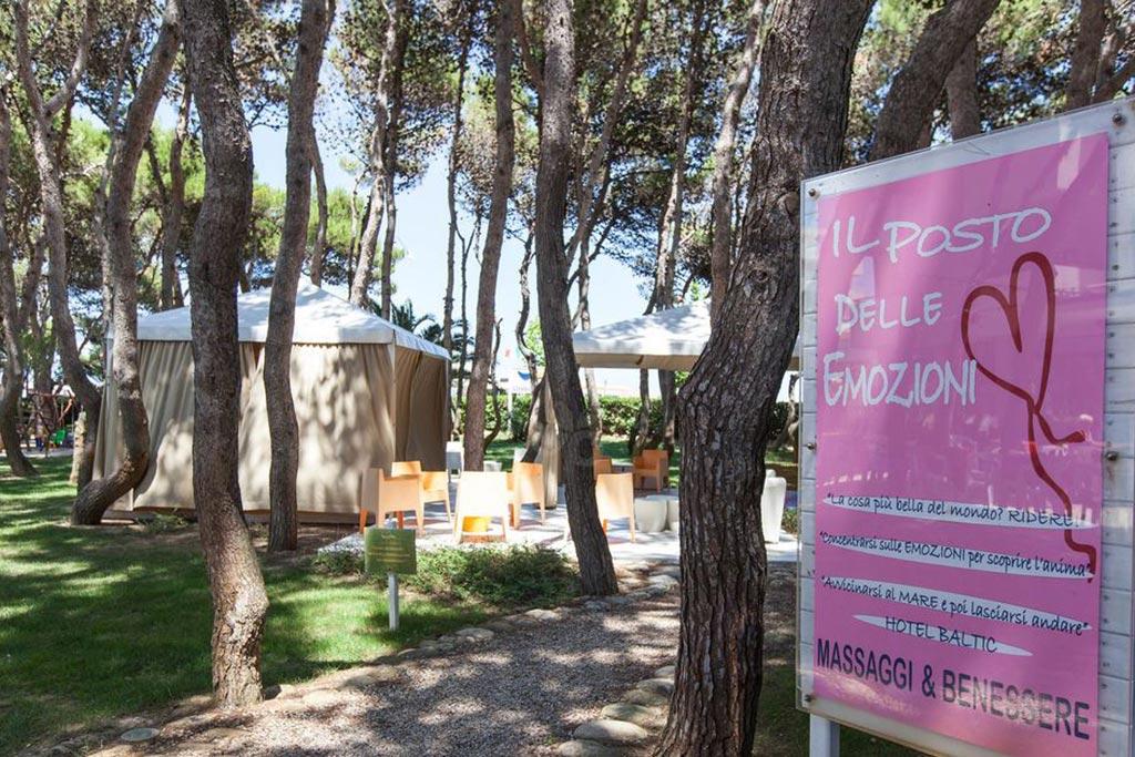 Hotel per bambini Abruzzo mare, Hotel Baltic, benessere