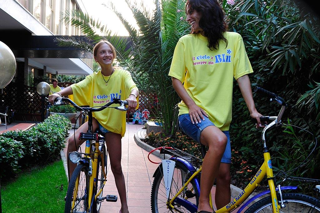 Hotel per famiglie Abruzzo mare, Hotel Haway, bici