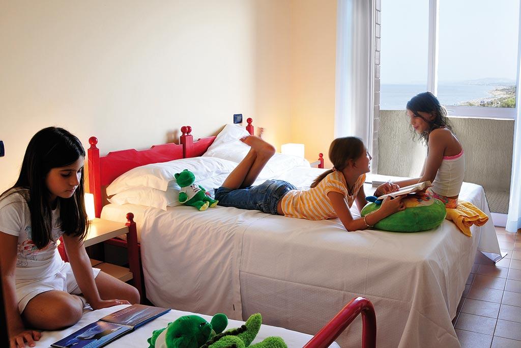 Hotel per famiglie Abruzzo mare, Hotel Haway, camere