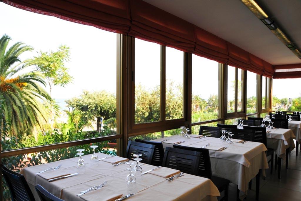Hotel per famiglie Abruzzo mare, Hotel Haway, ristorante