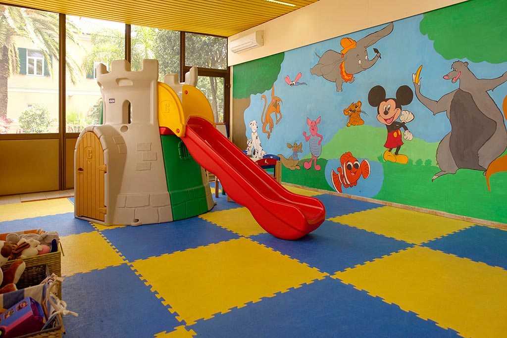 Residence per famiglie in Liguria, Residence Greco & Linda giochi