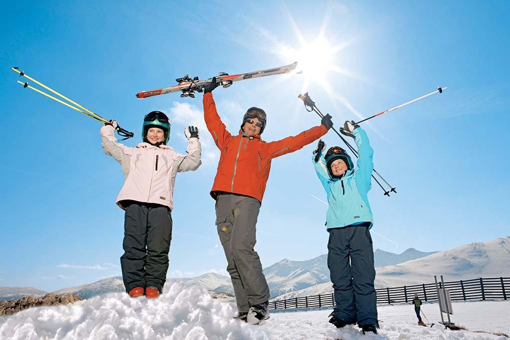 Hotel per bambini Carinzia, Hote Die Post inverno sugli sci