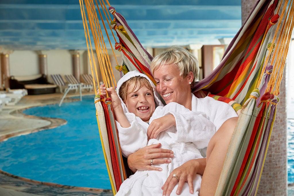 Hotel per bambini Carinzia, Hote Die Post piscina