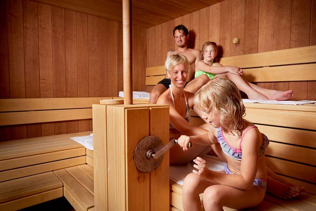 Hotel per bambini Carinzia, Hote Die Post sauna