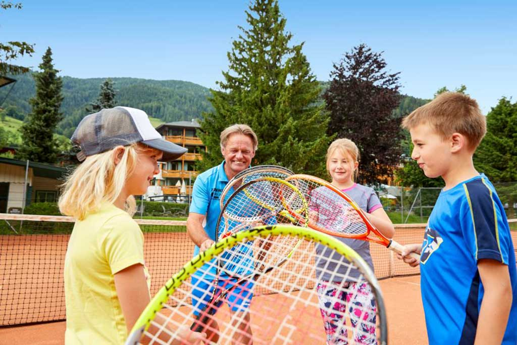 Hotel per bambini Carinzia, Hote Die Post tennis