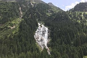 Valle dello Stubai con bambini, cascate
