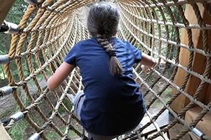 Stubai con bambini, sentiero case sugli alberi