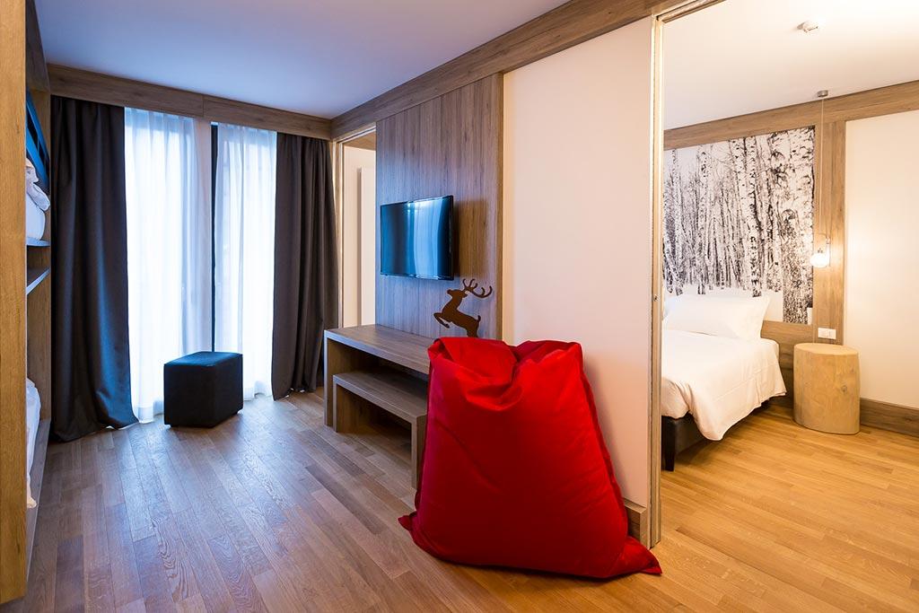 Family hotel Monte rosa, Hotel Mirtillo Rosso, camera