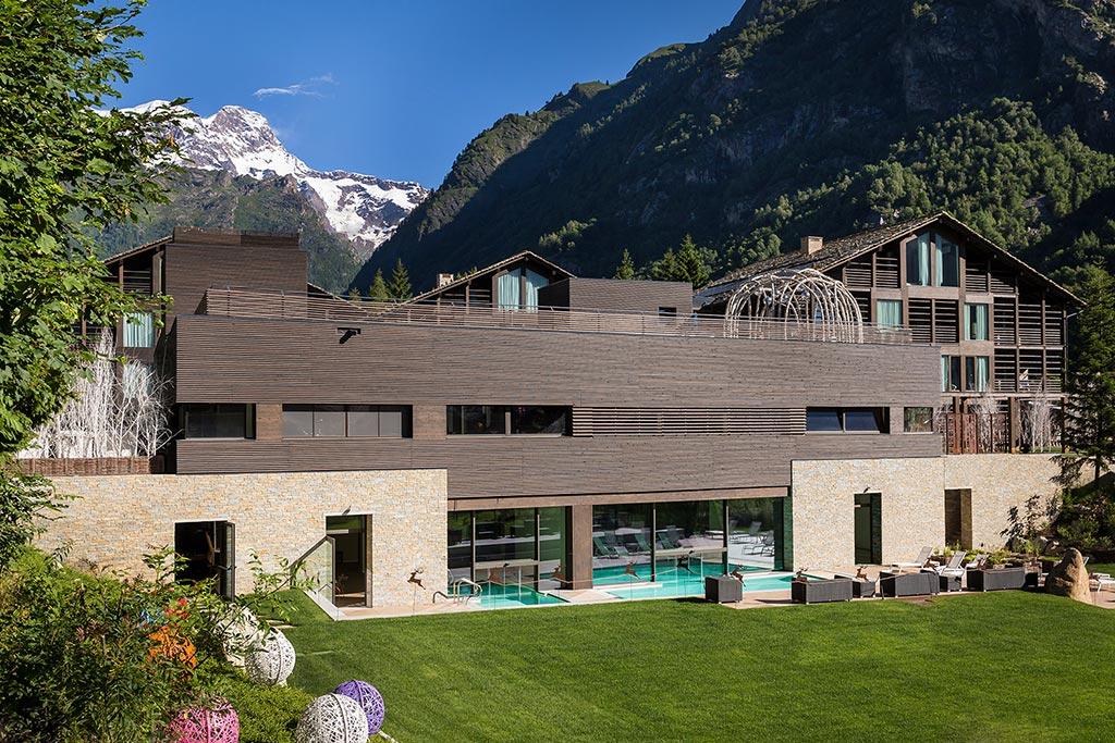 Family hotel Monte rosa, Hotel Mirtillo Rosso, esterno
