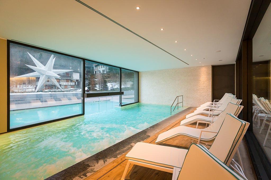 Family hotel Monte rosa, Hotel Mirtillo Rosso, piscina