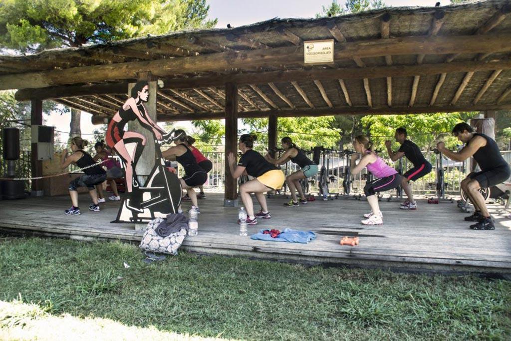 Camping Village le Capanne, campeggio per famiglie in Toscana a Marina di Bibbona, fitness