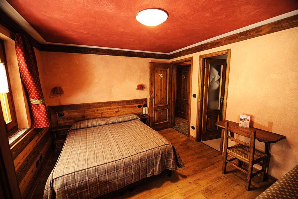 Hotel per famiglie Val d'Aosta, Hotel Zerbion camera
