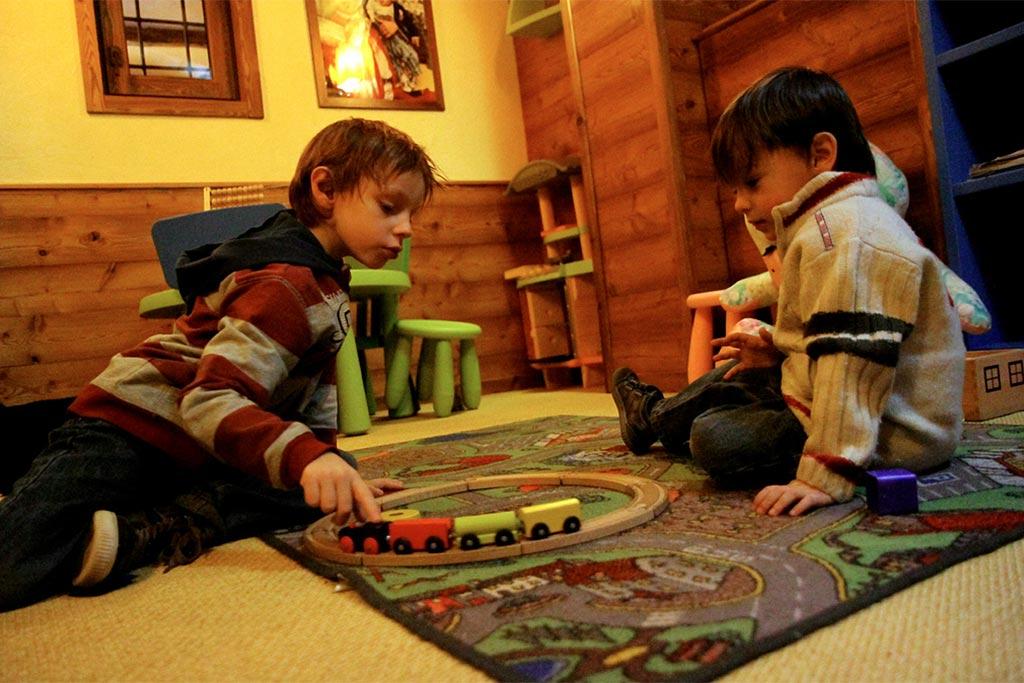Hotel per famiglie Val d'Aosta, Hotel Zerbion giochi