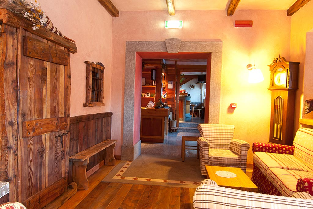 Hotel per famiglie Val d'Aosta, Hotel Zerbion interni