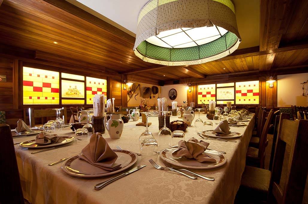 Hotel per famiglie Val d'Aosta, Hotel Zerbion ristorante