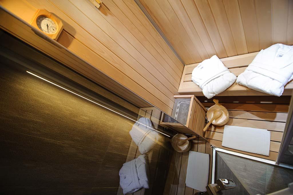Hotel per famiglie Val d'Aosta, Hotel Zerbion sauna