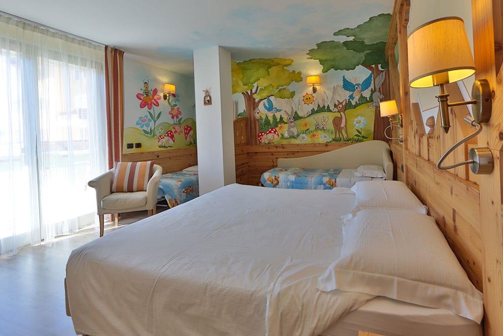 Family hotel Andalo, Hotel Alpino, camere family