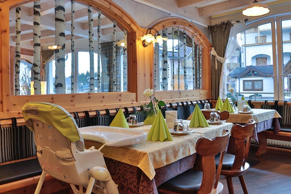 Family hotel Andalo, Hotel Alpino, ristorante