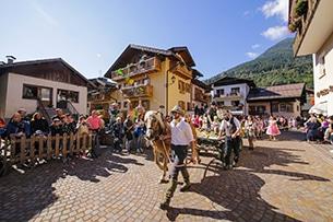 Weekend in autunno in Trentino Festa degli Alpeggi