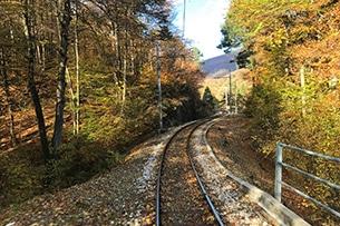 Treno del Foliage, Piemonte - Svizzera