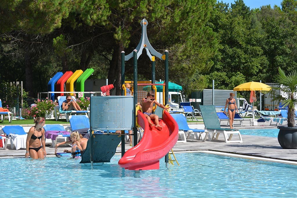 Camping per famiglie a Bibione, Camping Residence il ...