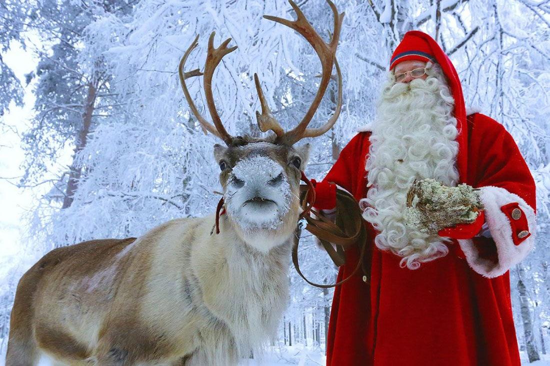 Immagini Natalizie Lapponia.Babbo Natale In Lapponia Rovaniemi E Non Solo Familygo