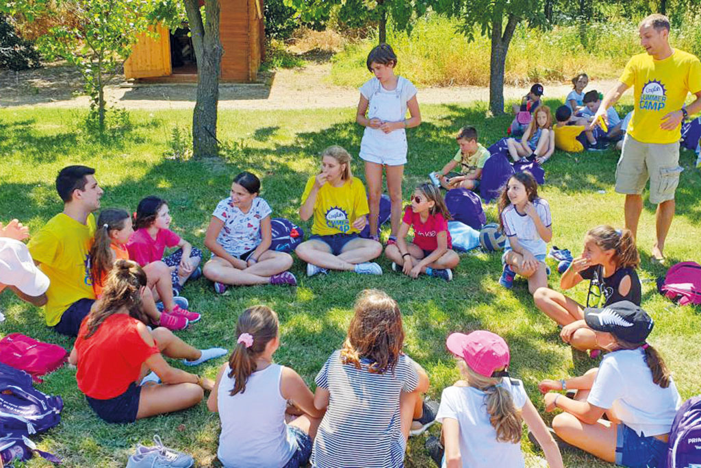 English Summer Camp Toscana in inglese