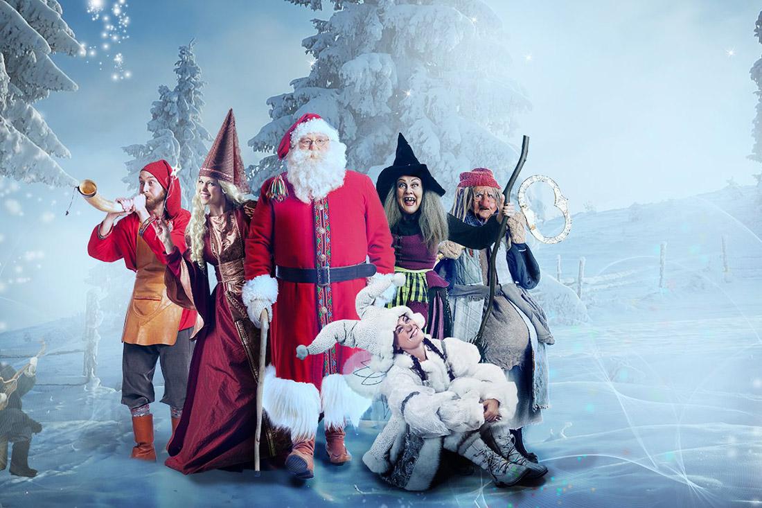 Dove Andare A Vedere Babbo Natale.Babbo Natale In Svezia Viaggio Per Bambini Familygo