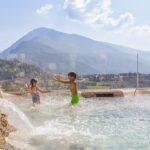 Family Hotel Miravalle per bambini vicino Comano, la piscina