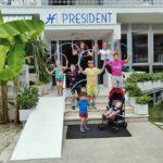 Hotel President per famiglie a San Benedetto del Tronto, lungomare San Benedetto del Tronto, bambini