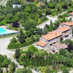 Agriturismo Buccia Nera per bambini vicino Arezzo, panoramica
