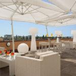 Best Western CTC Hotel Verona per famiglie, terrazza