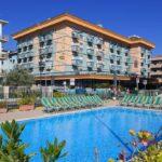 Family Hotel Arizona Ferretti, a Igea Marina, piscina