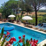 Agriturismo Vernianello nella campagna toscana, piscina