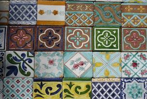 Piastrelle siciliane cucina cucine in muratura di caltagirone